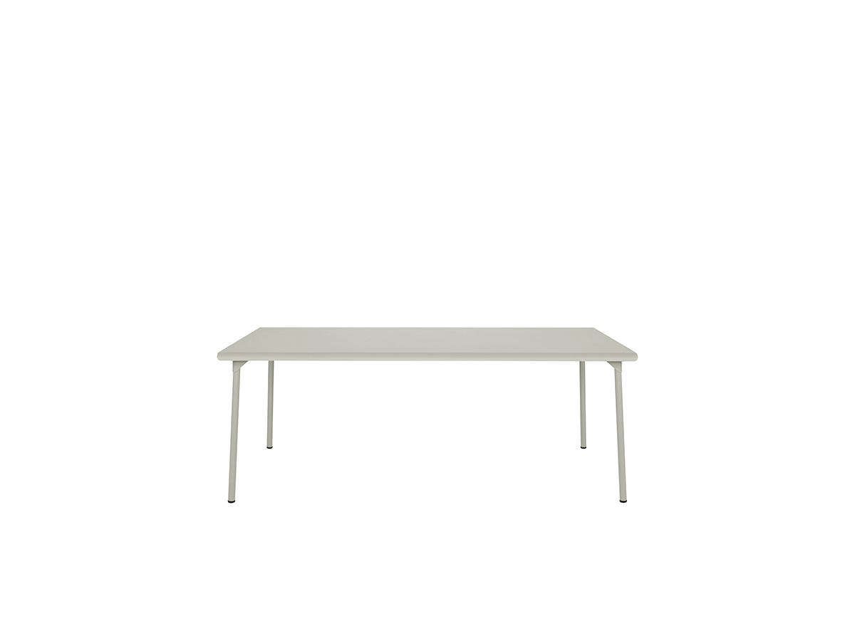 Design outdoor metal table PATIO by TOLIX