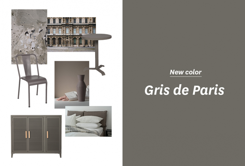 """Gris de Paris"" New Tolix color!"