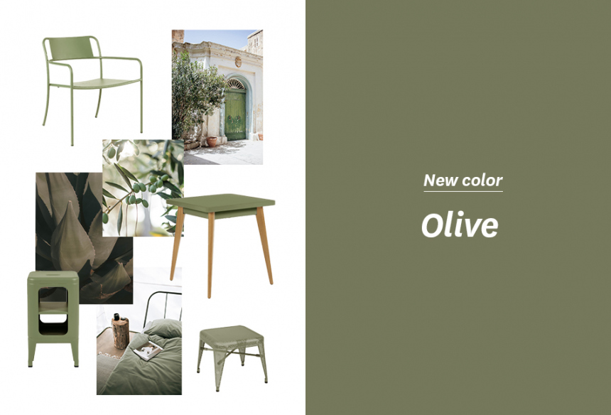 """Olive"" New Tolix color!"
